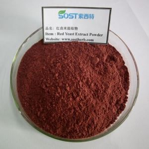 100% Organic Red Yeast Rice Extract Powder