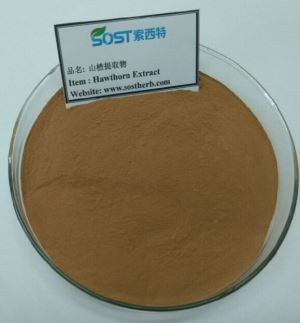 Pure natural 80% flavone powder hawthorn extract
